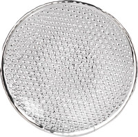 Doge Glass & Silver Round Plate