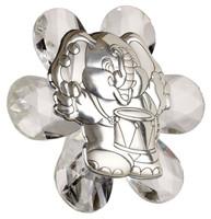 Italian Crystal & Silver Baby Elephant Favor