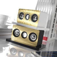 Sound Touch Silver Speaker (small)