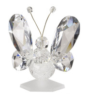 Crystal & Murano Butterfly Figurine