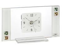 Murano Table Clock