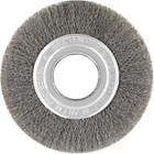 "6"" x .008"" x 2"" Crimped Wire Wheel Brush (Steel) 