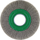 "6"" x .012"" x 2"" Crimped Wire Wheel Brush (Stainless Steel) 