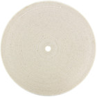 "8"" x 1/2"" Cotton Buffing Wheel 