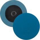 "3"" Quick Change Sanding Disc (Box Qty: 50) | Type R | 50 Grit Zirconia | LVA RD30ZA-50"