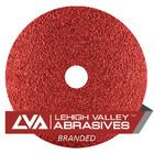 """7"""" x 7/8"""" Premium Resin Fiber Discs (Box Qty: 25)   80 Grit Ceramic   LVA RF70CA-080LVA"""