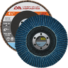"4.5"" x 7/8"" Zirconia Flap Disc Type 29 Conical 