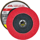 "7"" x 7/8"" Ceramic Flap Disc Type 29 Conical 