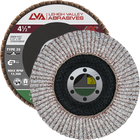 "4 1/2"" x 7/8"" Flap Disc for Aluminum Type 29 Conical 