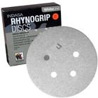 """5"""" 5 Hole Rhynogrip Hook & Loop Discs (Box of 50)   320 Grit AO Plus   Indasa 54-320"""