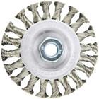 """4"""" x .020"""" 7/8"""" w/ Bushings Knot Wire Wheel Brush (steel)"""