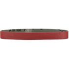 1-3/16 x 21 In. Abrasive Sanding Belts for Flex, Fein & Metabo Pipe Sanders  (Pkg Qty: 10) | P180 Aluminum Oxide | Metabo 626280000