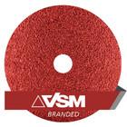 "5"" x 7/8"" Resin Fiber Discs (Pack Qty: 50) | 100 Grit Ceramic Plus | VSM XF885 149555"