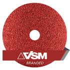 "5"" x 7/8"" Resin Fiber Discs (Pack Qty: 50) | 120 Grit Ceramic Plus | VSM XF885 149556"