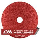 """7"""" x 7/8"""" Premium Resin Fiber Discs (Box Qty: 25)   40 Grit Ceramic   LVA RF70CA-040LVA"""