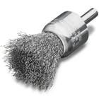 "5/8"" x 0.012 x 1/4"" End Brush Crimped (Steel )   Lessmann 452161"
