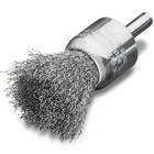 "7/8"" x 0.012 x 1/4"" End Brush Crimped (Stainless) 