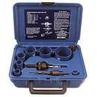 9 piece Plumber's Hole Saw Kit | Blu-Mol Bi-Metal