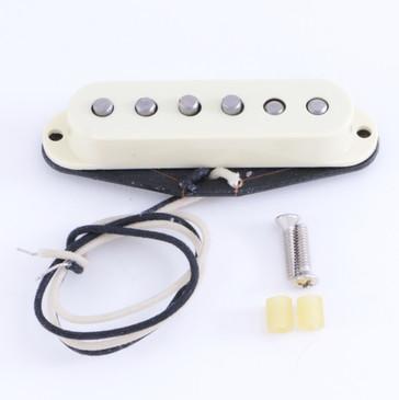 Open Box Fender 57/62 Single Coil Strat Guitar Pickup Aged White