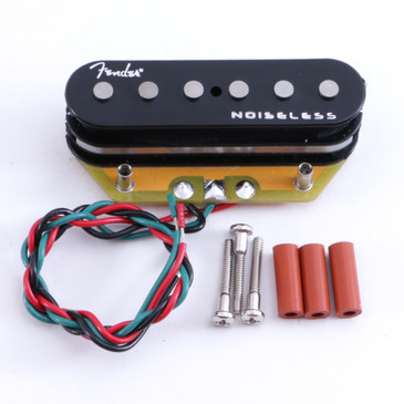 Open Box Fender Gen4 Noiseless Telecaster Bridge Guitar Pickup Black