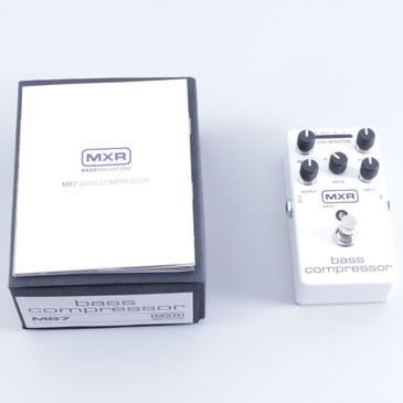 NEW!! MXR Bass Compressor Bass Effects Pedal M87