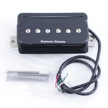 Open Box Seymour Duncan SHPR-1B P-Rails Humbucker Bridge Guitar Pickup Black