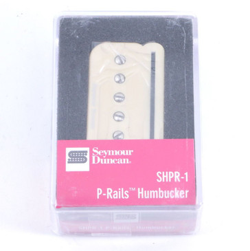 Seymour Duncan SHPR-1B P-Rails Bridge Humbucker Guitar Pickup Cream
