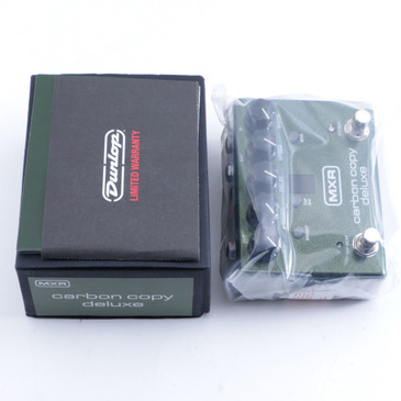 NEW! MXR M292 Carbon Copy Deluxe Analog Delay Guitar Effects Pedal