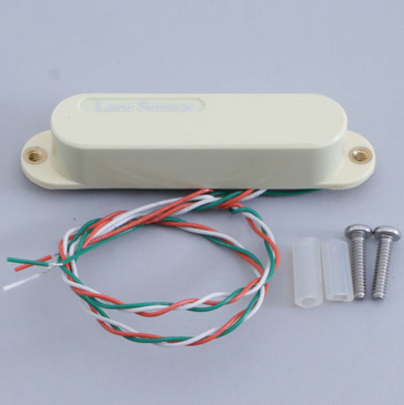 Open Box Lace Sensor Silver Single Coil Guitar Pickup Creme Cover