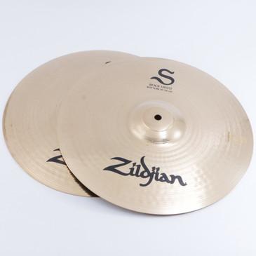 """Zildjian S Family Rock 14"""" Hi-Hat Cymbal Pair"""