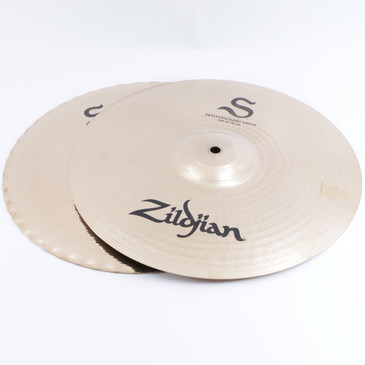 "Zildjian S Family Mastersound 14"" Hi-Hat Cymbal Pair"