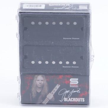 Seymour Duncan Jeff Loomis Blackout 7-String Set Pickups with Active Mount Black