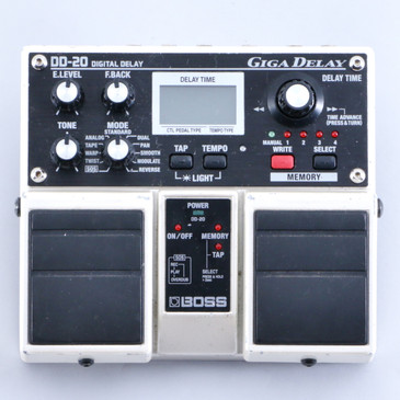 Boss DD-20 Giga Delay Guitar Effects Pedal P-05780
