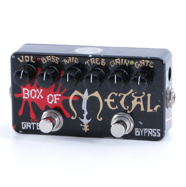 ZVEX Box of Metal (Hand Painted) Distortion Guitar Effects Pedal P-05766