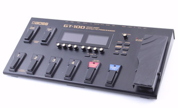 Boss GT-100 Multi-Effects Pedal & Power Supply PD-2837