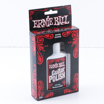 Ernie Ball Guitar Polish with Cloth OS-7780