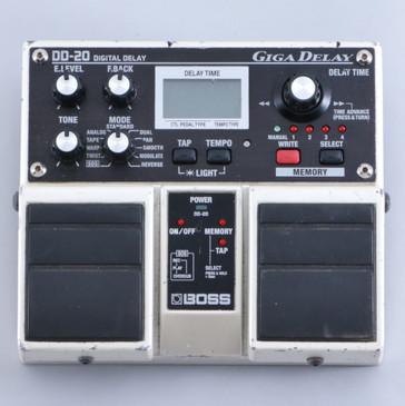 Boss DD-20 Giga Delay Guitar Effects Pedal P-06071
