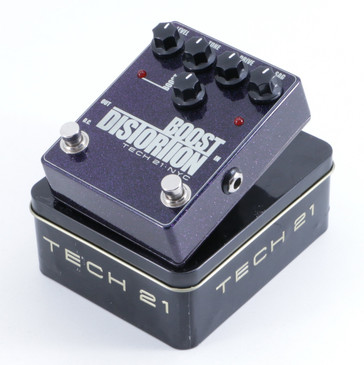 Tech 21 Boost Distortion Guitar Effects Pedal P-06069