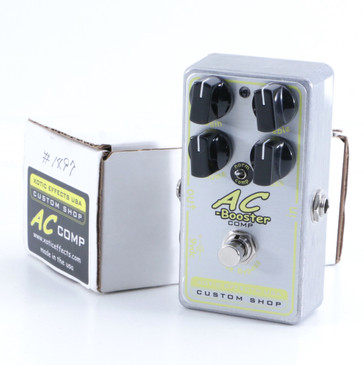 Xotic Effects AC-Booster Comp Overdrive Guitar Effects Pedal P-06141