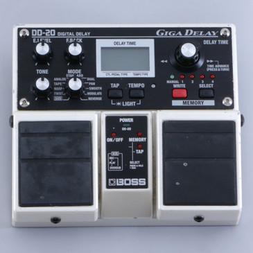 Boss DD-20 Giga Delay Guitar Effects Pedal P-06261