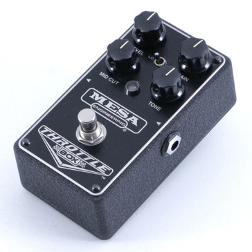 Mesa Engineering Throttle Box Distortion Guitar Effects Pedal P-06433