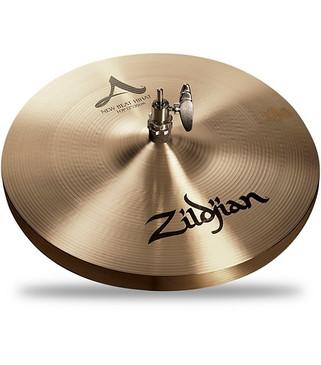 "Zildjian 12"" New Beat Hi-Hat Pair Traditional Finish"