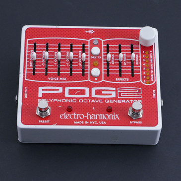 Electro-Harmonix POG2 Polyphonic Octave Generator  Guitar Effects Pedal P-06642