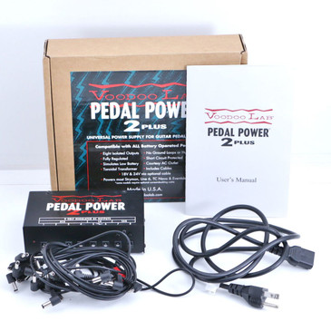 Voodoo Lab Pedal Power 2 Plus Guitar Effects Power Supply P-06647