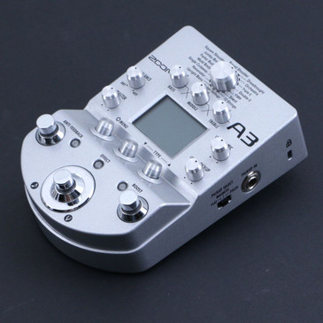 Zoom A3 Acoustic Guitar Preamp & Effects Pedal P-06700
