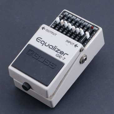 Boss GE-7 Equalizer Guitar Effects Pedal P-06692