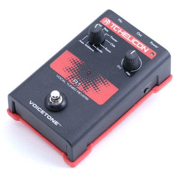 TC Helicon Voicetone R1 Reverb Vocal Effects Pedal P-06684
