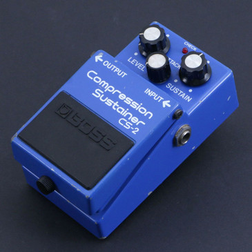 Boss CS-2 Compression Sustainer Guitar Effects Pedal P-06695