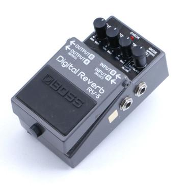 Boss RV-5 Digital Reverb Reverb Guitar Effects Pedal P-06687