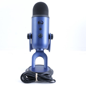 Blue Yeti (Blue Finish) Condenser Multi-Pattern Microphone MC-2973